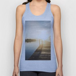 Sitting on the Dock of the Bay Unisex Tank Top