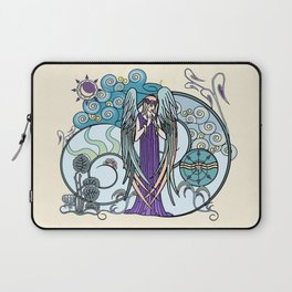 Angel of Clouds Laptop Sleeve