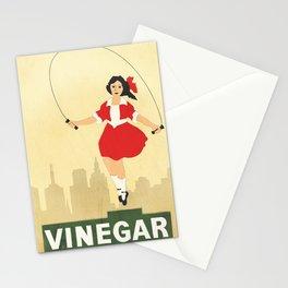 Skipping Girl Vinegar Stationery Cards