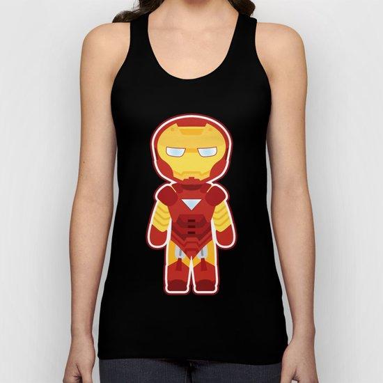 Chibi Iron Man Unisex Tank Top