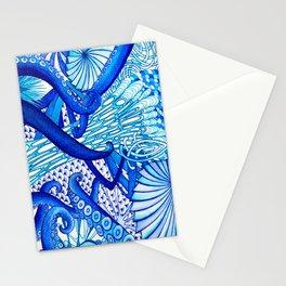 Blue Sploodge  Stationery Cards