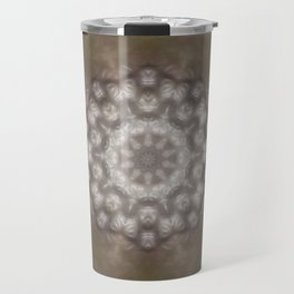 Silver and gold CB Travel Mug