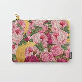 Rosy Gold Carry-All Pouch