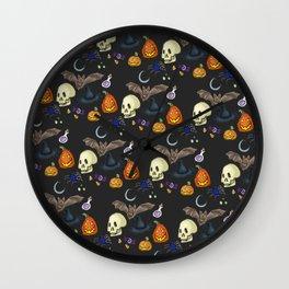 Halloween Skin Wall Clock
