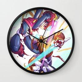 Megaman Sword Fight Wall Clock