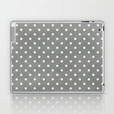 dark gray swiss dots Laptop & iPad Skin
