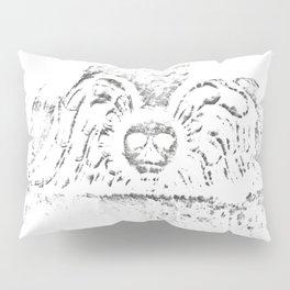 Black Headstone Pillow Sham