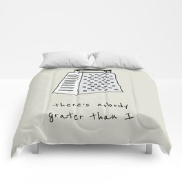 Grater than I Comforters