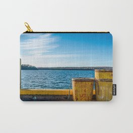 Fishermans Cove Harbour View Carry-All Pouch