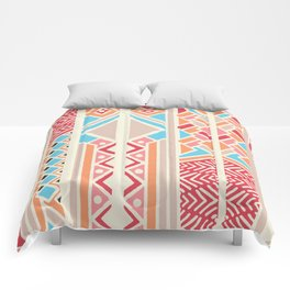 Tribal ethnic geometric pattern 033 Comforters