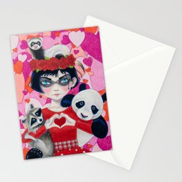 Love Bandits Stationery Cards