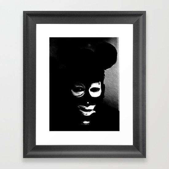 The Depraved Star Framed Art Print