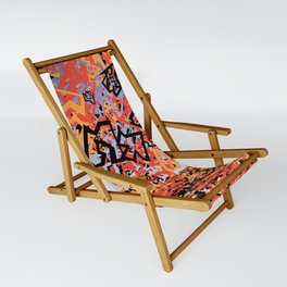 Shattering Sky Sling Chair