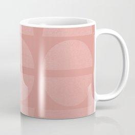 Space Beams - Soft Pastel Vintage Shapes Coffee Mug