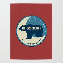 Missouri - Redesigning The States Series Poster