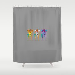 Corruption Shower Curtain