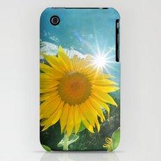 Sunflower. Vintage Slim Case iPhone (3g, 3gs)