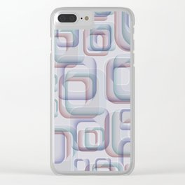 Abstract 202 Clear iPhone Case