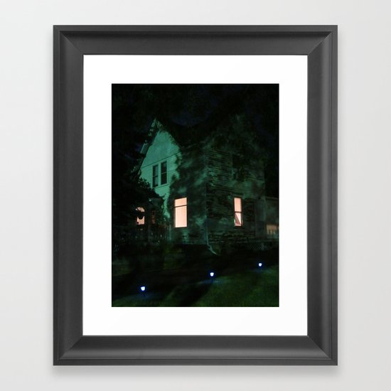 Quite The Weathered House Framed Art Print