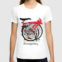 brompton T-shirts featuring Brompton Bike by Wyatt Design
