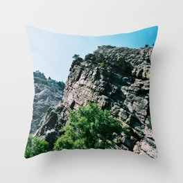 Eldorado Canyon State Park II Throw Pillow