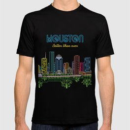 Houston Better Than Ever Circuit T-shirt