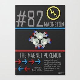 Magneton Canvas Print