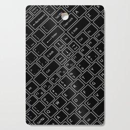 Keyboarded BLACK Cutting Board