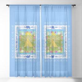MIDSOMM∆R Sheer Curtain