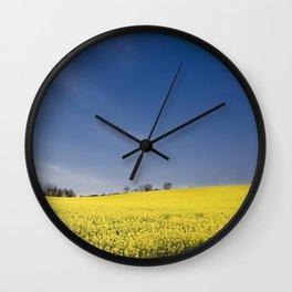 Brest Fields Wall Clock