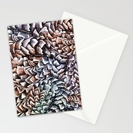 Artichokes and Pangolins Muted Stationery Cards