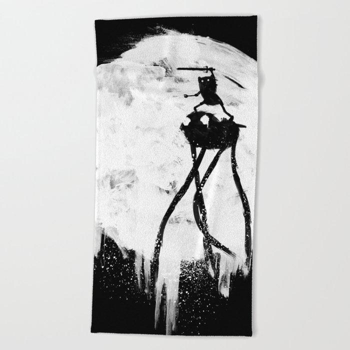 Midnight Adventure Beach Towel