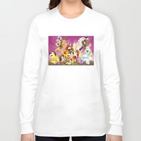 mlp Long Sleeve T-shirts featuring MLP X-Women by Kimball Gray