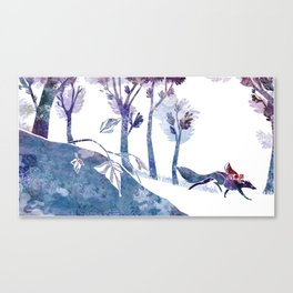 Petit chaperon rouge / Little Red Riding Hood Canvas Print