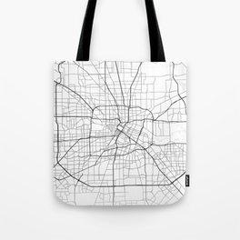 Houston street map Tote Bag