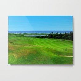 PEI Canada Oceanview Landscape | Nadia Bonello Metal Print