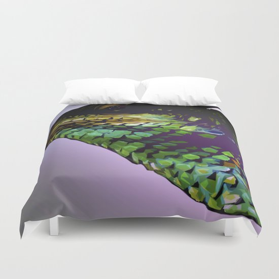 Lizard Duvet Cover