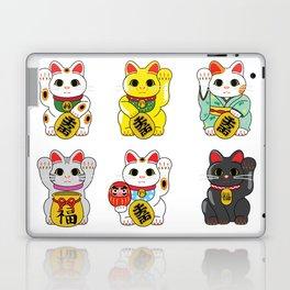Lucky Cat / Maneki Neko Laptop & iPad Skin