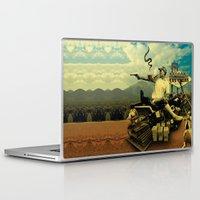 hunter s thompson Laptop & iPad Skins featuring Hunter S by mattdunne