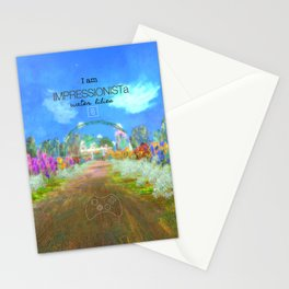 IMPRESSIONISTa Water Lilies Stationery Cards