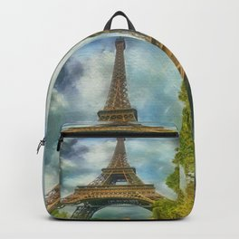 Eiffel Tower - La Tour Eiffel Backpack