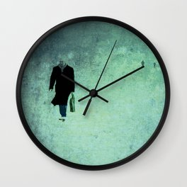 People Wall Clock
