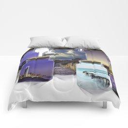 Bottled World Comforters