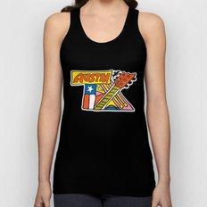 Austin TX Unisex Tank Top