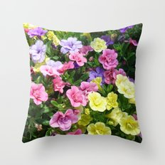 Lovely Flowers 17 Throw Pillow