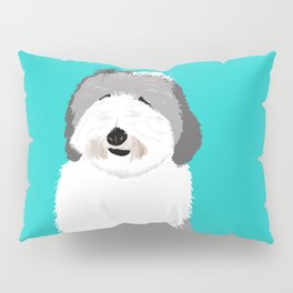 Lucy The Sheepadoodle Pillow Sham