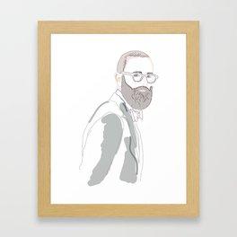 Dior Framed Art Print
