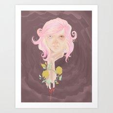 sickly Art Print