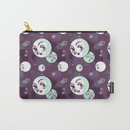 Moon Faces Carry-All Pouch