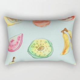 A collection of fruit Rectangular Pillow